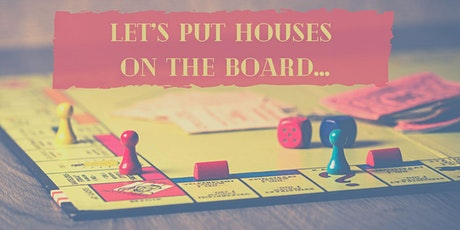 The REAL ESTATE  Game an  Introduction to our Investing community tickets