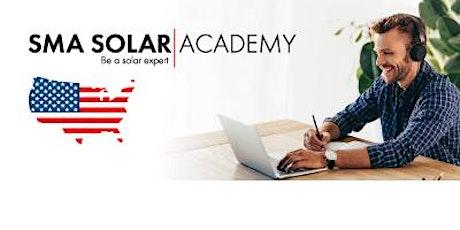 Webinar: SMA Residential PV Solutions tickets