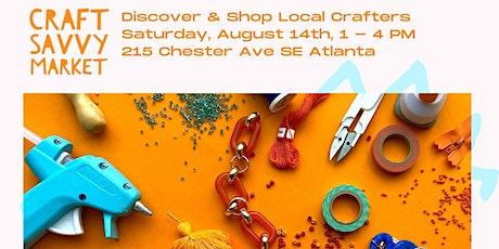 Craft Savvy Market Summer 2021 tickets