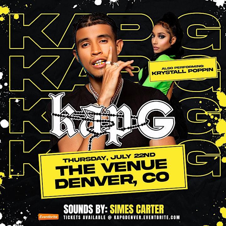 Kap G @ The Venue / Denver, Co image