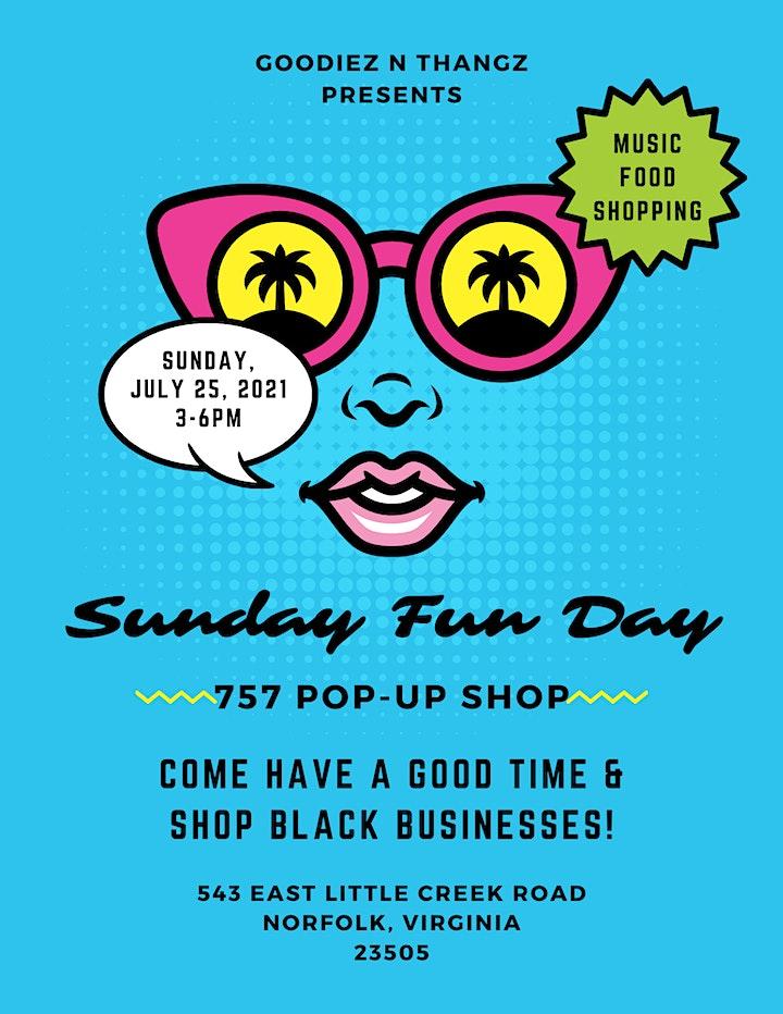 Sunday Funday 757 Pop Up Shop image