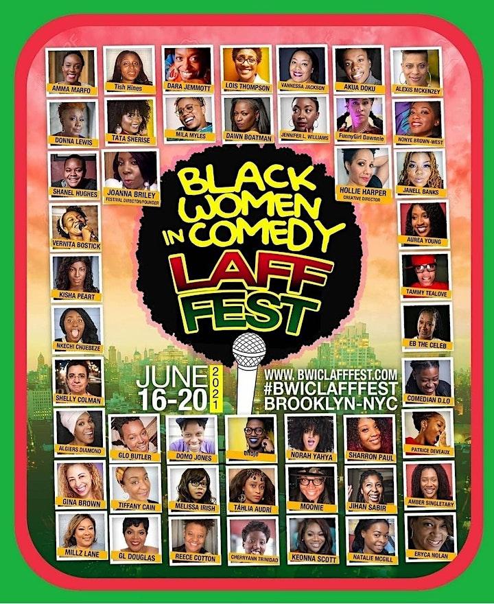 BLACK WOMEN IN COMEDY LAFF FEST image
