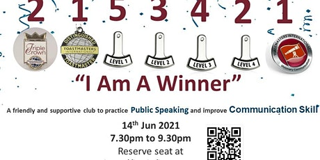I Am A Winner - Free Public Speaking and Communication Workshop tickets