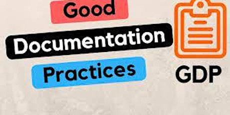 Good Documentation Practices Live Webinar tickets