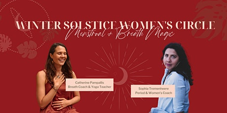 Full Moon & Winter Solstice Women's Circle: Menstrual + Breath Magic tickets