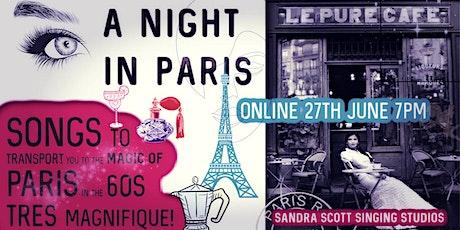 Bienvenue à une soirée à Paris-A Magical Night of Song of  Paris in the 60s tickets