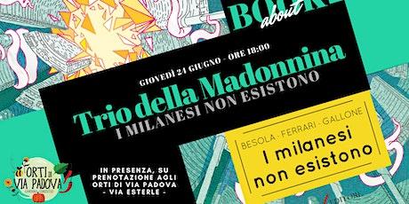 BookAbout con Il Trio della Madonnina dal vivo biglietti