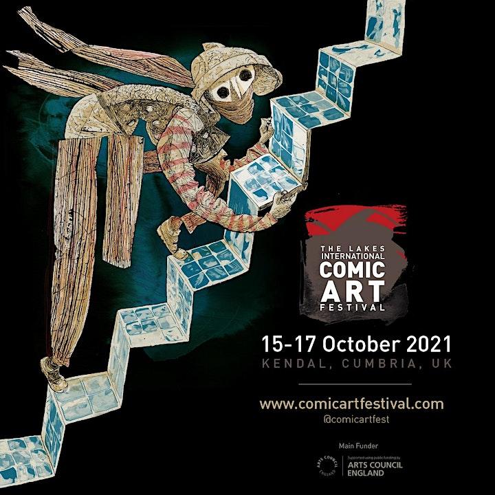 Saturday Festival Pass  (16 Oct) Lakes International Comic Art Festival image