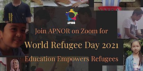 World Refugee Day with APNOR - Celebrating Refugee Education tickets