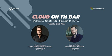 Cloud on the Bar | Data, AI & Open Sources on Azure tickets