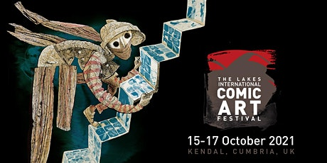 Saturday Festival Pass  (16 Oct) Lakes International Comic Art Festival tickets