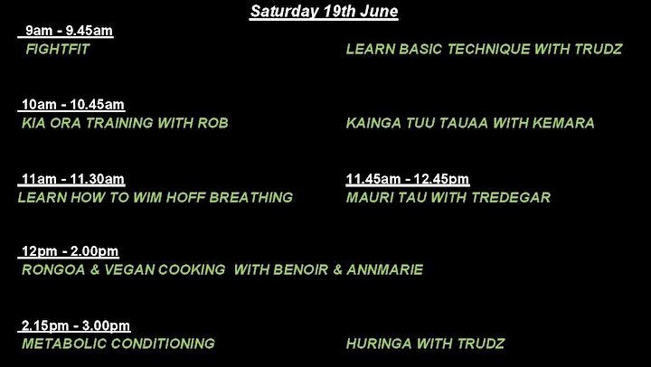 Marae Fit 2021 @ Waipahihi Marae image