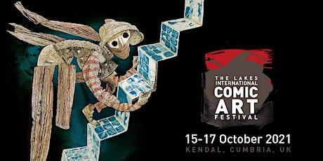 Sunday Festival Pass  (17 Oct) Lakes International Comic Art Festival tickets
