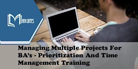 Managing Multiple Projects For BA's Virtual Training in Ciudad Juarez entradas