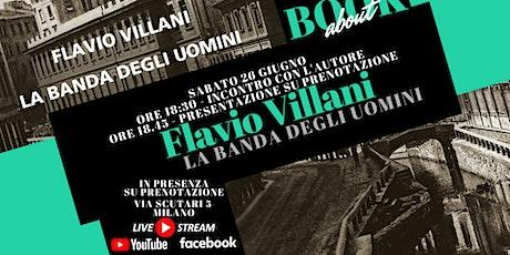 BookAbout con Flavio Villani biglietti