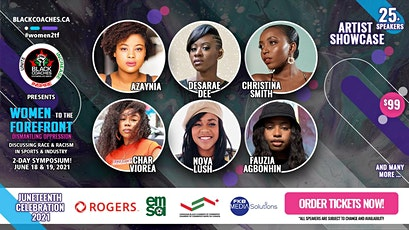 Women To The ForeFront - Artist Showcase tickets