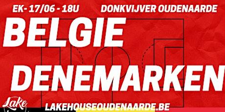 EK Belgie - Denemarken tickets