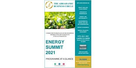 ENERGY SUMMIT 2021 Tickets