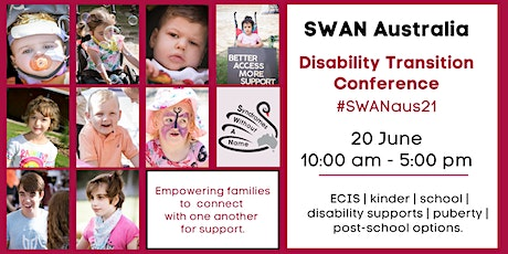 SWAN Disability Transition Conference tickets