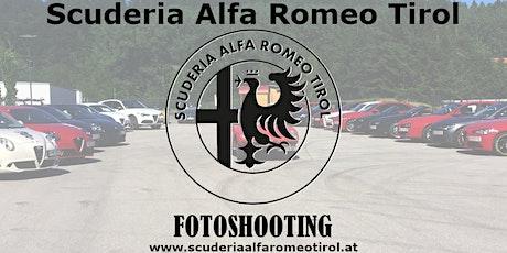 Alfa Romeo Fotoshooting Tirol Tickets