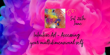 Intuitive Art - Accessing your multidimensional self tickets