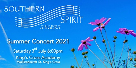 Southern Spirit Singers Summer Concert tickets