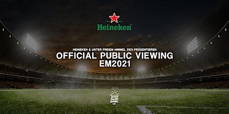 Official Heineken Public Viewing - EM2021 (Deutschland vs. Ungarn) Tickets