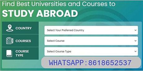 Attend Free Webinar on Study in USA | Register Now!! tickets
