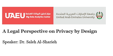 A Legal Perspective on Privacy by Design tickets