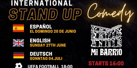 Beat the Sunday Blues - English Stand up Comedy at Mi barrio tickets