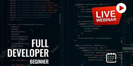 Full Developer For Beginners Tickets