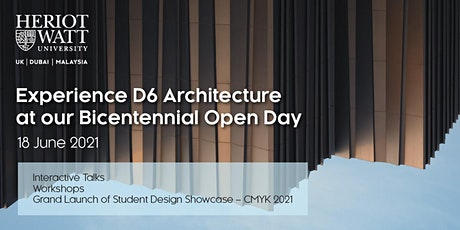 D6 Architecture Open Day Activities tickets