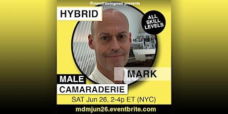 Men Drawing Men (ONLINE)SAT Jun 26, 2-4p ET (NYC) tickets