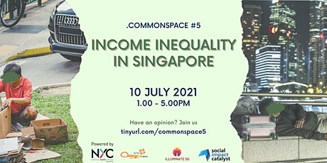 Common Space Series 5: Income Inequality tickets