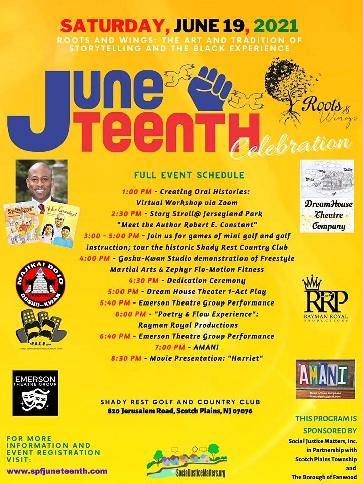 Juneteenth @ Shady Rest and Jerseyland Park image