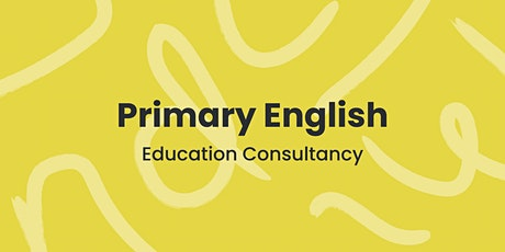 English Subject Leader Training (face-to-face event) tickets