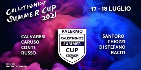CALISTHENICS SUMMER CUP PALERMO tickets