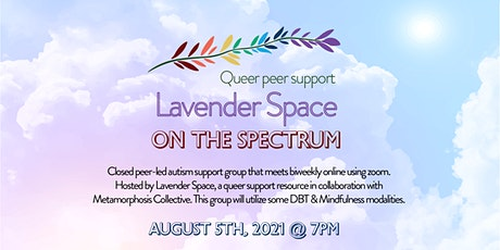 Lavender Space on The Spectrum tickets