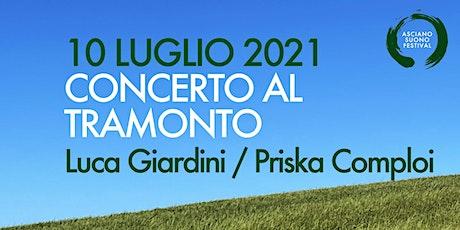CONCERTO AL TRAMONTO - Luca Giardini / Priska Comploi biglietti