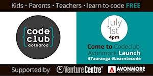 CodeClub Avonmore Launch