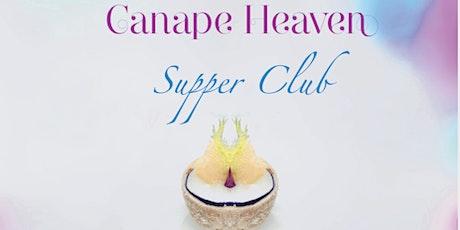 Copy of Canape Heaven supper club tickets