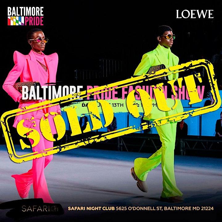 Baltimore Pride Fashion Show image