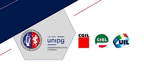 Career Virtual Events 2021 - Incontro con CGIL CISL e UIL UMBRIA biglietti