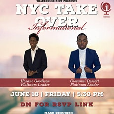 NYC TAKE OVER INFORMATIONAL tickets