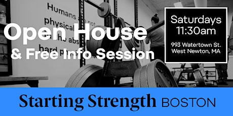 Gym Open House & Free Info Session tickets