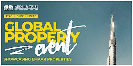 GLOBAL PROPERTY EVENT - DUBAI tickets