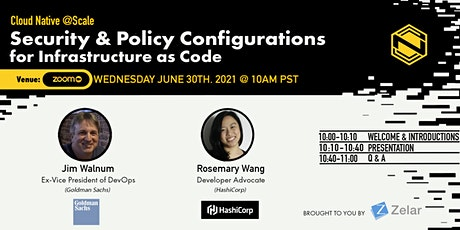 Security & Policy Configurations for Infrastructure as Code tickets
