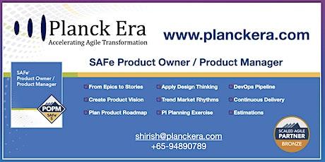 SAFe Product Owner / Product Manager POPM ingressos
