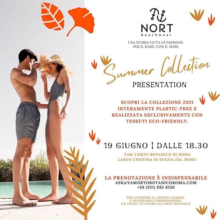 Immagine Yam  Orto Botanico di Roma, Summer Collection Nort Beachwear