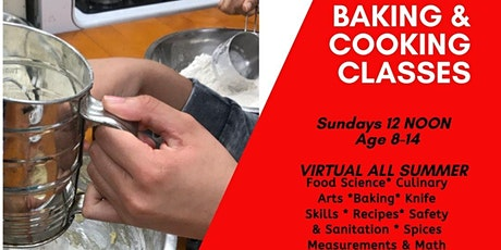Virtual Childrens Cooking  & Baking Workshops tickets